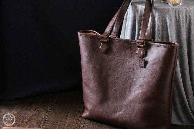 【受注生産】たっぷりサイズのトートバッグの画像1枚目
