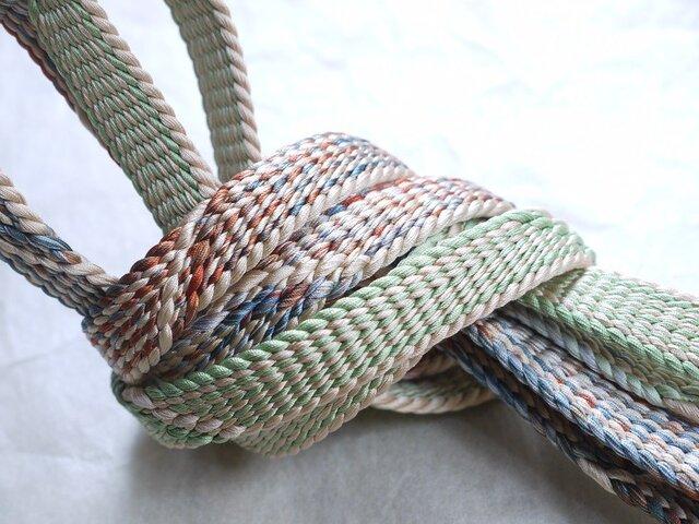 手組み正絹組紐【せせらぎ(3色)】124A018017の画像1枚目