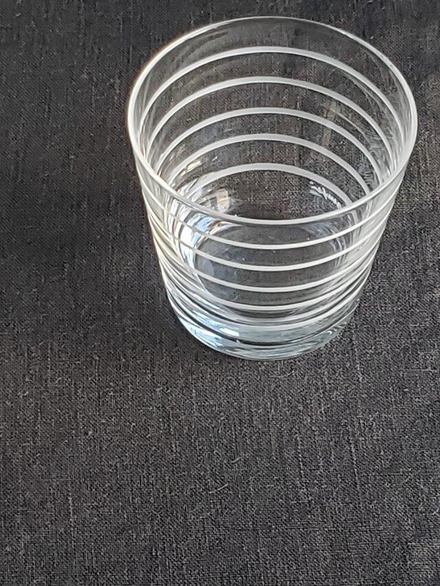 KIRIKO グラスミニ ボーダーの画像1枚目