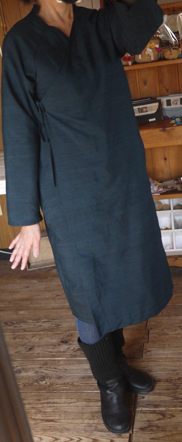 正絹100反物から単衣羽織の画像1枚目
