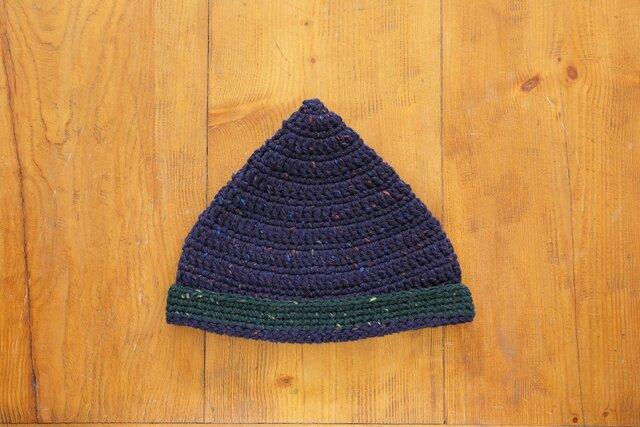 ツイードのとんがり帽子[おとな]の画像1枚目