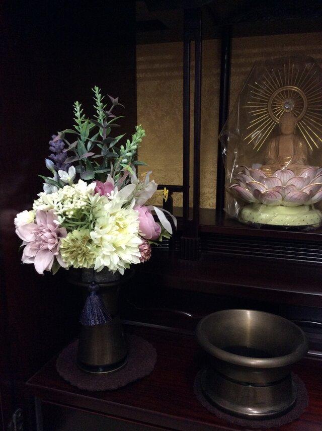 仏花    真珠の涙    慶の画像1枚目