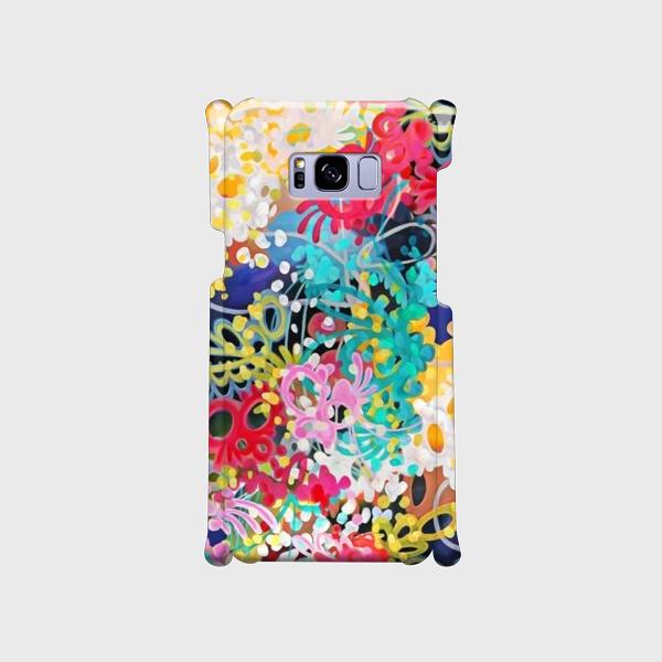 百花繚乱① ―Hyakka-ryouran―  Galaxy S8等 大サイズスマホ専用 ハードケースの画像1枚目