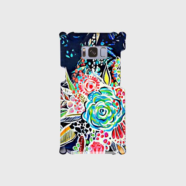百花繚乱② ―Hyakka-ryouran―  Galaxy S8等 大サイズスマホ専用 ハードケースの画像1枚目