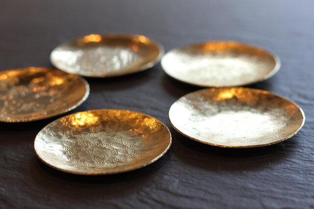 真鍮の豆皿の画像1枚目