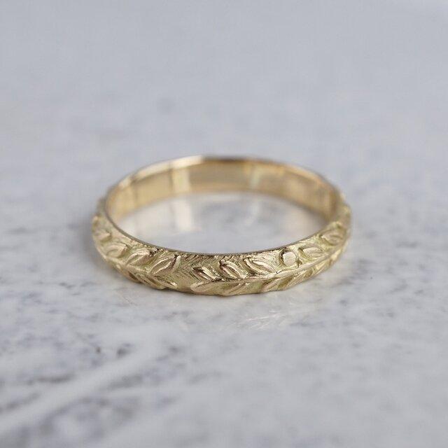 Laurel wreath ring {R076K18}の画像1枚目
