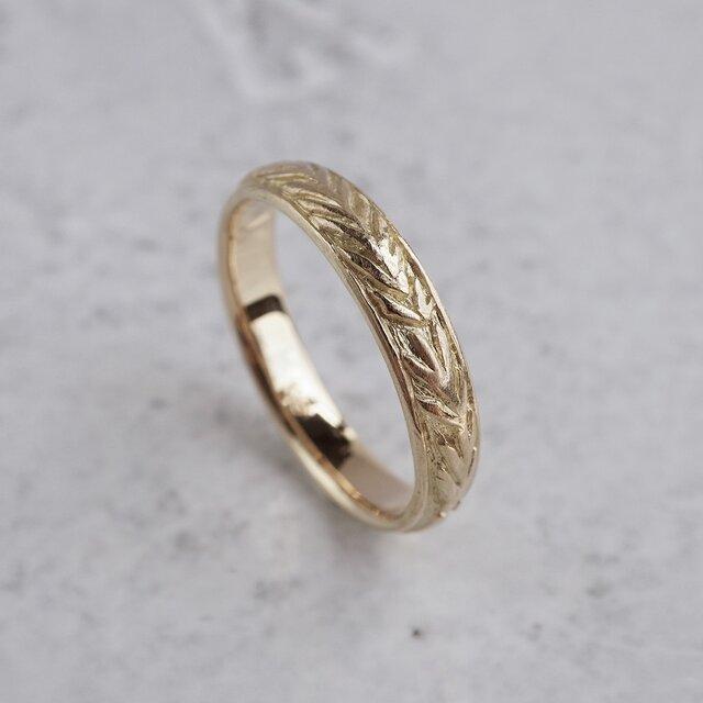 Rosemary wreath ring [R075K18]の画像1枚目