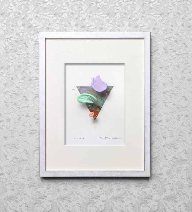 浮遊する筆触 【Layer 18568】 25 x 22cmの画像1枚目