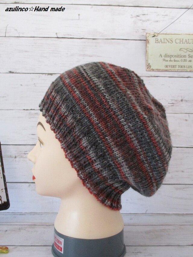 手編み帽子 Opal   Talisman 9277 Kraftの画像1枚目