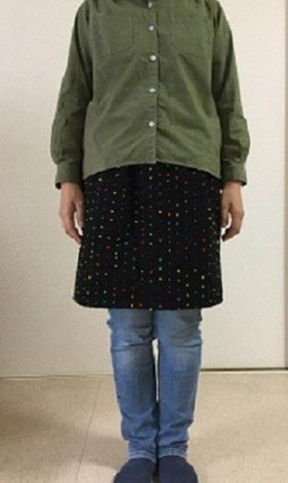 ウールのタイトスカート Sサイズの画像1枚目