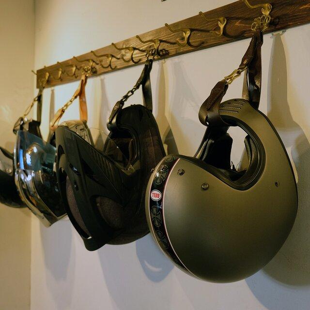 ヘルメットハンガー:スタンダードカラーの画像1枚目