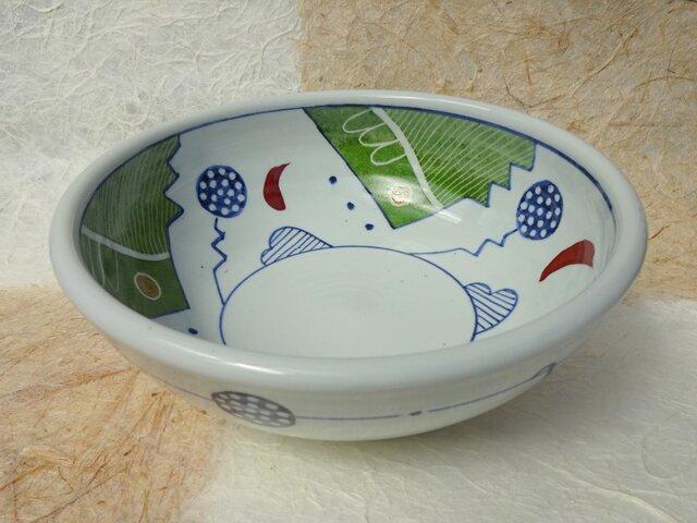 緑の中鉢の画像1枚目