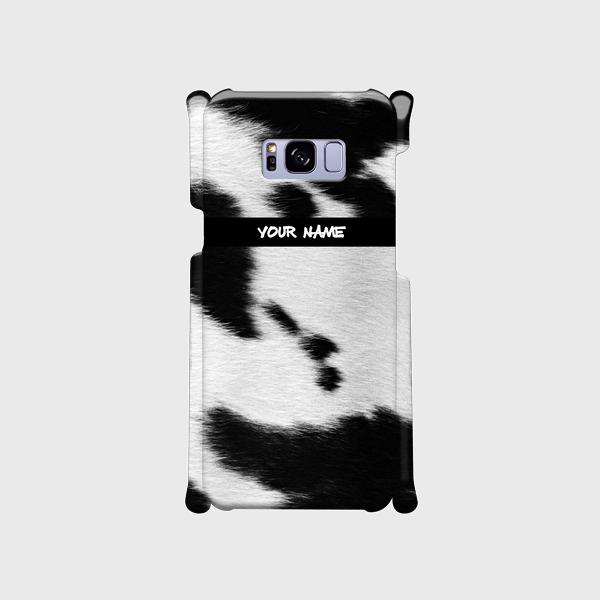 質感プリント アニマル柄 <牛>  xperia、Galaxy、iphone他多機種対応 ハードケースの画像1枚目