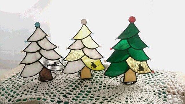 クリスマスツリー ⁂イエロー⁂の画像1枚目