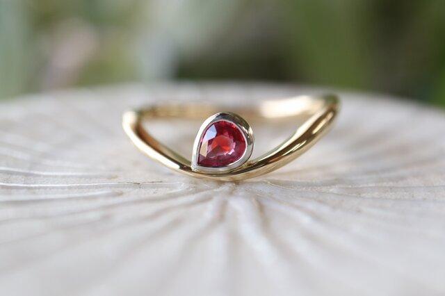 サファイヤ指輪の画像1枚目
