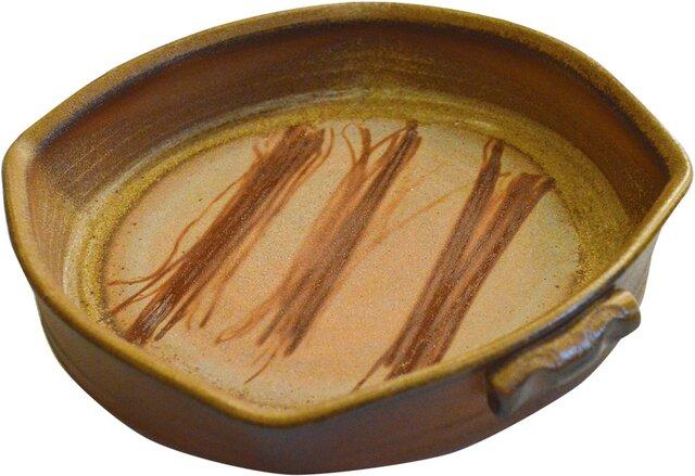 備前焼オーブン皿(M)の画像1枚目