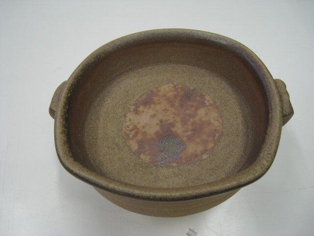 備前焼オーブン皿(S)の画像1枚目