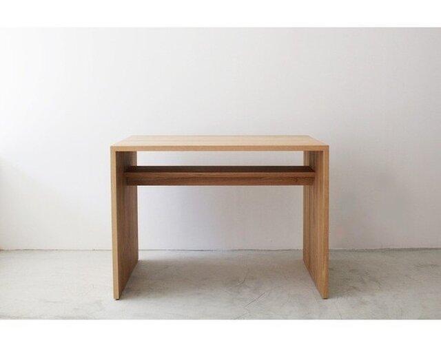 受注生産 モダン シンプルなダイニングテーブル/デスク/テーブル 北欧家具 ナチュラル ラフデザイン 職人手作り 天然木の画像1枚目