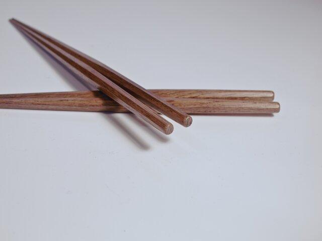 利休の箸〈 拭き漆仕上げ 〉の画像1枚目