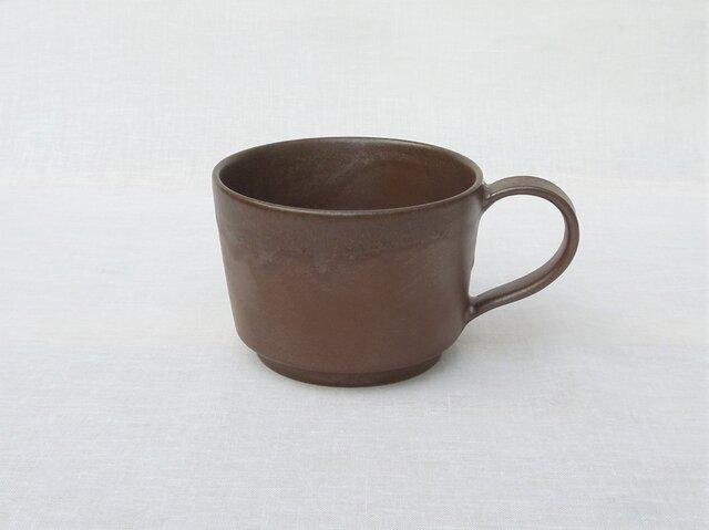 ヴィンテージ風マグカップ ダークブラウンの画像1枚目