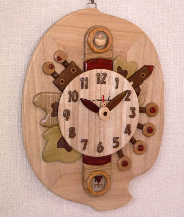 木時計 リーフの画像1枚目