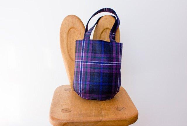 タータンチェックのお散歩バッグ【Scotland forever】の画像1枚目