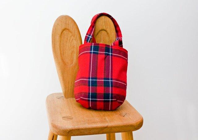 タータンチェックのお散歩バッグ【Inverness】の画像1枚目