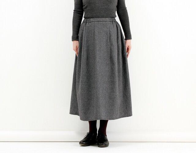 ギャザースカート(千鳥)#214の画像1枚目