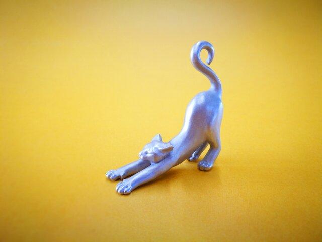 Miniオブジェ 白猫の画像1枚目