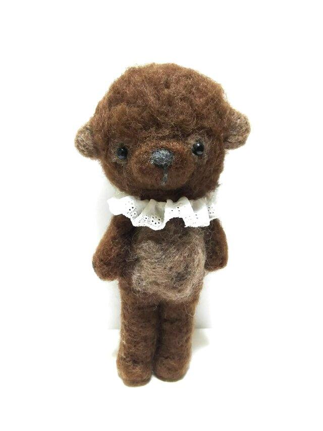 茶色いふわふわクマさんの画像1枚目