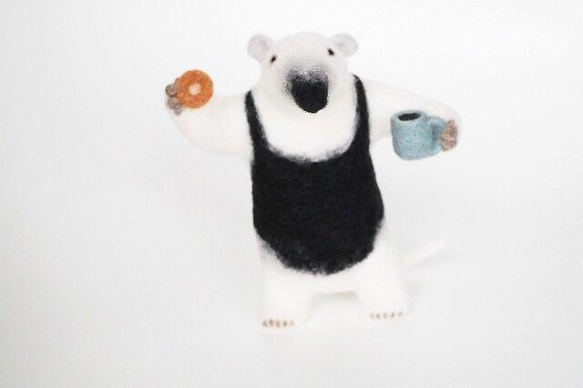 アリクイ with Donut&Coffeeの画像1枚目