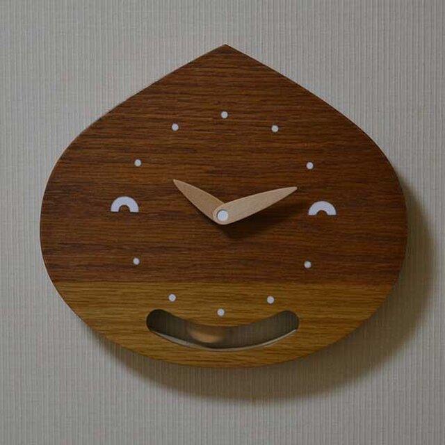 栗坊主の振り子時計の画像1枚目