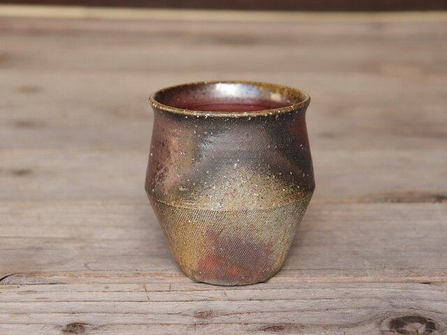 備前 フリーカップ(野草) f1-039の画像1枚目