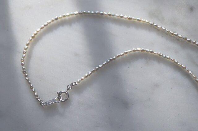アコヤケシパールのネックレスの画像1枚目