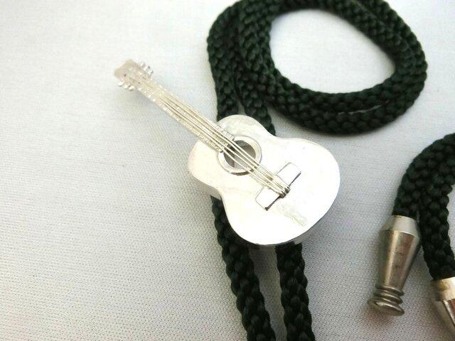 ギターループタイ「受注制作」の画像1枚目