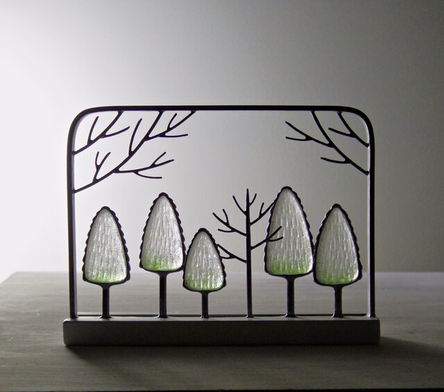 ガラスの森 フレームの画像1枚目