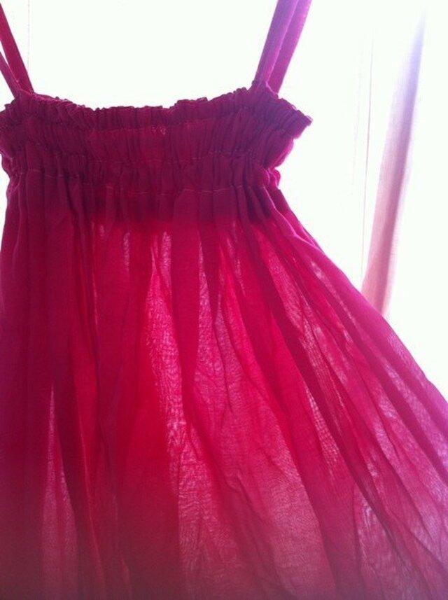 2WAY ワンピース & ロングスカート ピンクの画像1枚目