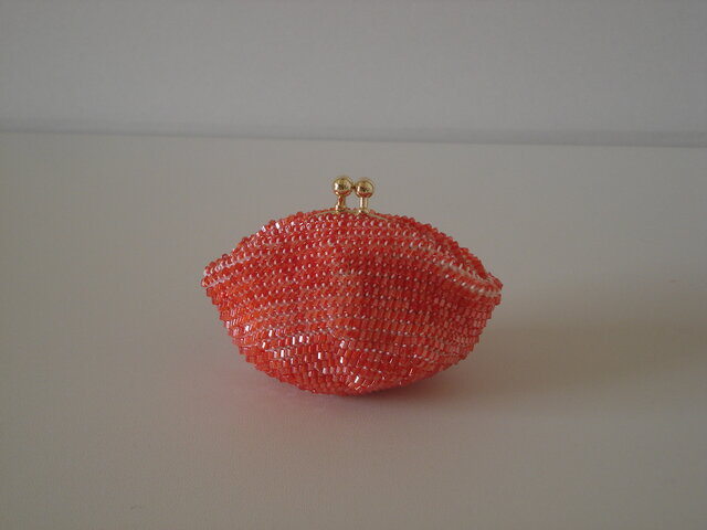Beaded Purse --Momiji--の画像1枚目