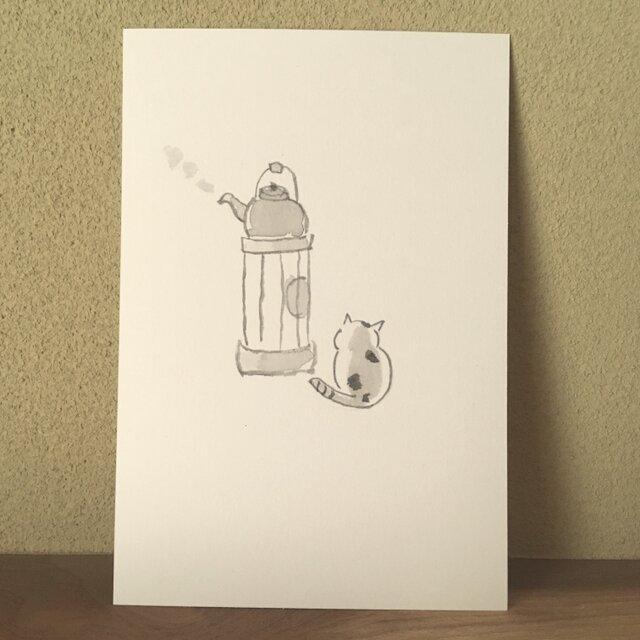 絵葉書/ポストカード <ストーブ>の画像1枚目