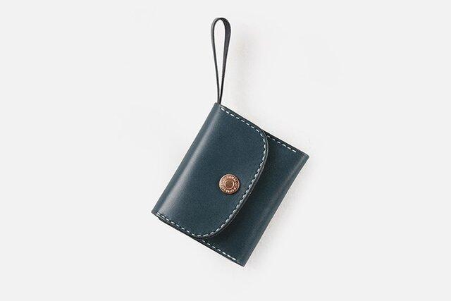 【切線派】本革三つ折り財布 レディース 革 大容量 牛革手縫い収納財布 総手縫いの画像1枚目