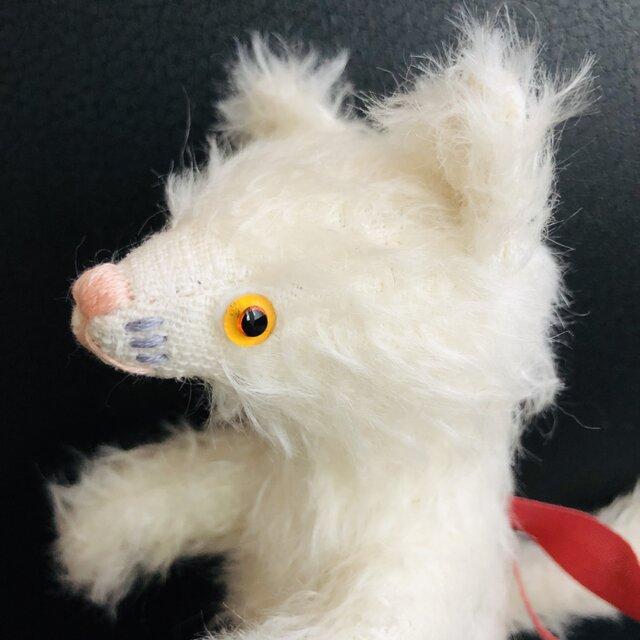 シャトン・クリーム 子猫のぬいぐるみ ギフト バースデーギフト ねこ シロネコの画像1枚目