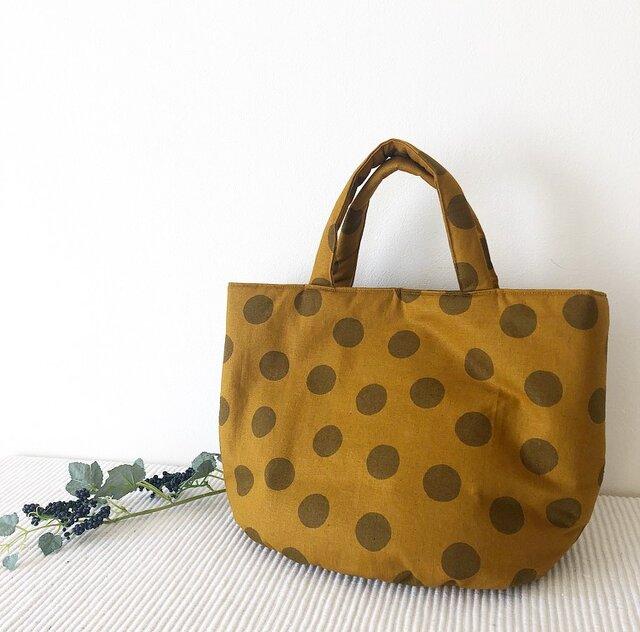 期間限定価格♡¥2799たっぷり入る❤︎水玉柄トートbagの画像1枚目