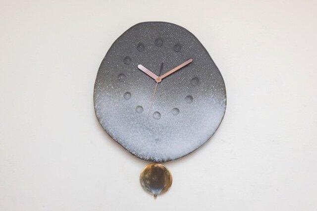 黒陶振子時計4の画像1枚目