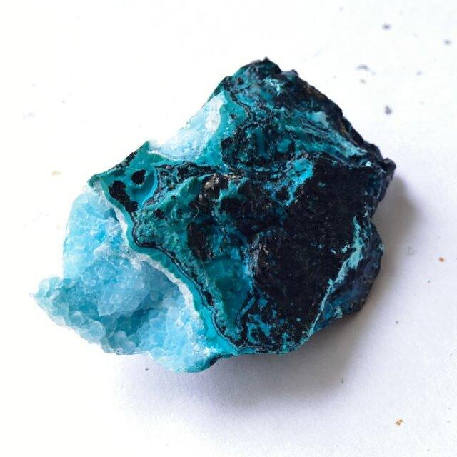 ジェムシリカ ドゥルージー ペルー産 47.5g/鉱物・結晶原石の画像1枚目