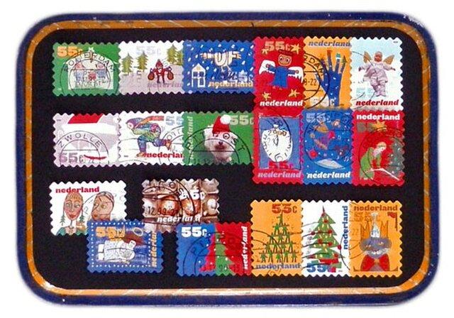 オランダクリスマス古切手(19枚set)Holland   DA-STE123の画像1枚目