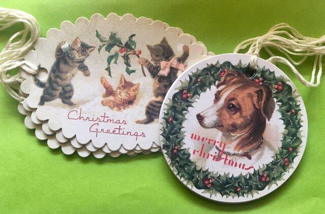 ITALY クリスマスタグ 6枚Setの画像1枚目