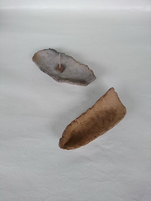 焼き締め香炉・グレーの画像1枚目