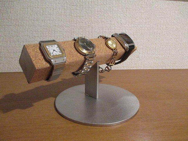 腕まわりが大きい時計専用角パイプ腕時計スタンド  スタンダード 181115の画像1枚目