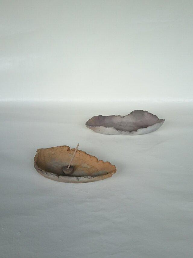 焼き締め香炉 II・グレーの画像1枚目
