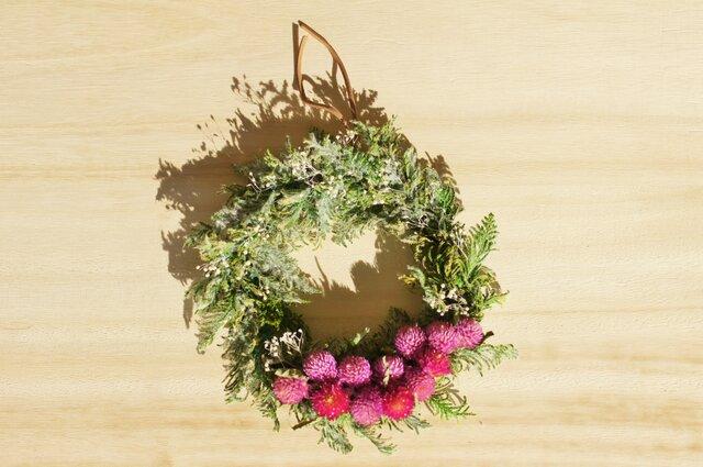 クリスマスminiリース 直径16㎝の画像1枚目